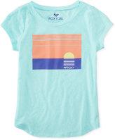 Roxy Sunset T-Shirt, Big Girls (7-16)
