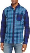 Michael Bastian Color-Block Regular Fit Shirt - 100% Exclusive