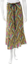 Mara Hoffman Printed Silk Skirt