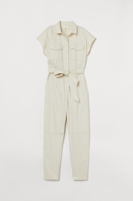 H&M Cotton utility jumpsuit