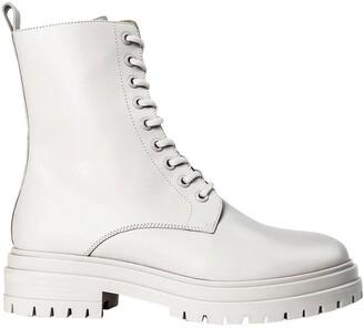 Tony Bianco Wya Milk Capretto Ankle Boots