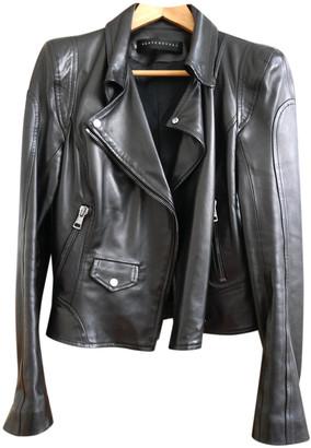 Ventcouvert Black Leather Leather jackets