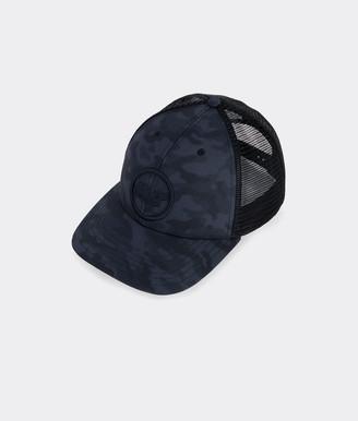 Vineyard Vines Camo Whale Dot Trucker Hat