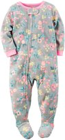 Carter's Floral Print Footie (Toddler/Kid) - Print - 4T