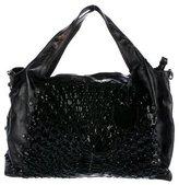 Salvatore Ferragamo Woven Leather satchel