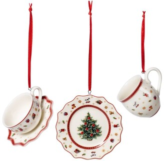 Villeroy & Boch Toy's Delight Tableware Christmas Decorations (Set of 3)