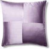 Kumi Kookoon French Pleat Silk Euro Sham, Lavender
