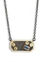 Freida Rothman Women's Modern Mosaic Pendant Necklace