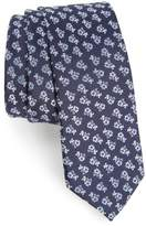 Nordstrom Floral Cotton Skinny Tie