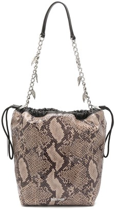 Just Cavalli Snakeskin-Effect Shoulder Bag