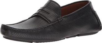 Aquatalia Men's Brandon Embossed Calf Driving Style Loafer