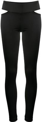 NO KA 'OI Sunrise cut-out leggings