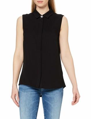 GUESS Women's Sl Madinah Shirt Blouse