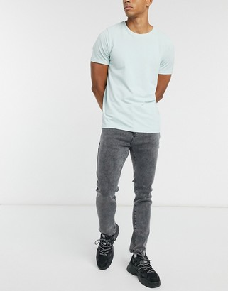 SikSilk x Steve Aoki loose fit jeans in black