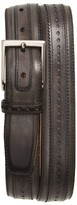 Magnanni Men's Flash Leather Belt