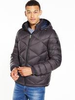 BOSS ORANGE Hooded Padded Jacket