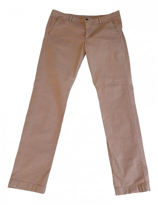 7 For All Mankind Pink Cotton Jeans for Women