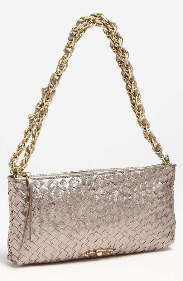Elliott Lucca '3-Way' Woven Leather Demi Bag