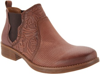 Comfortiva Leather Booties - Tenny