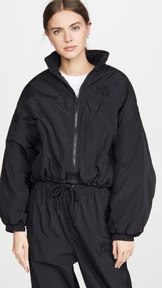 Alexander Wang Nylon Zip Jacket with Logo