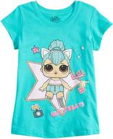 Girls 4-6x LOL Surprise! Kitty Queen Tee