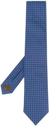 Church's plaid print tie