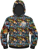 Marvel Comics Framed Heroes Men's Sublimated Hoodie