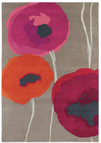Sanderson Poppies Red/Orange Rug - 170x240cm