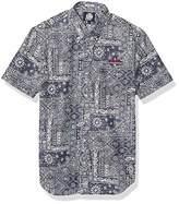 Reyn Spooner Men's Boston Red Sox MLB Tailored Fit Hawaiian Shirt