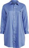 Ralph Lauren Striped Sateen Pajama Shirt