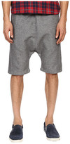Mostly Heard Rarely Seen Double Faced Drop Crotch Shorts