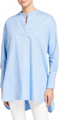 Cotton Poplin Oversized Shirt