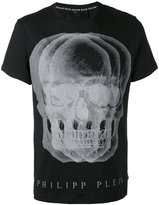Philipp Plein skull print T-shirt - men - Cotton - XL