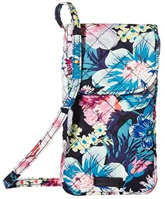 Vera Bradley Carson Cellphone Crossbody (Garden Grove) Cross Body Handbags