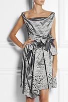 Vivienne Westwood Friday crinkled-taffeta dress