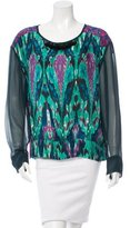 Figue Silk Embellished Top