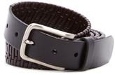 Tommy Bahama Island Grid Leather Belt