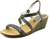 Anne Klein Women's Jasia Embellished Wedge Sandal
