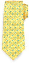 Kiton Box Neat Tie, Yellow