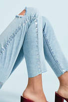 Current/Elliott The Stiletto High-Rise Skinny Cropped Jeans