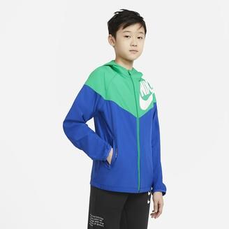 Nike Big Kids' (Boys') Jacket Sportswear Windrunner