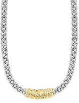 "Lagos Embrace Diamond Station Necklace, 16""L"