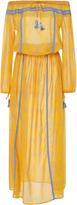 Lemlem Makena Embroidered Cotton Maxi Dress