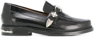 Toga Pulla Low-Heel Loafers
