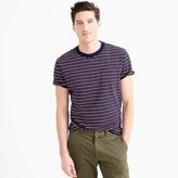 J.Crew Tall cotton T-shirt in multistripe