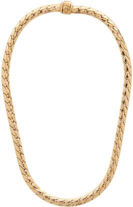 Emanuele Bicocchi Gold Herringbone Chain Necklace