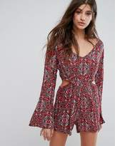 Billabong Paisley Beach Playsuit