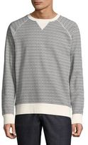 Wesc Micro-Print Crewneck Sweater