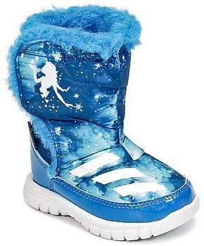 adidas DISNEY REINE DES NEIGES MID I girls's Snow boots in Blue
