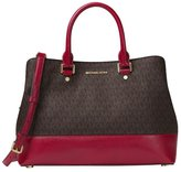 Michael Kors Savannah Large Satchel ($368)
